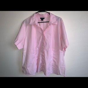Plus size Lane Bryant button down shirt